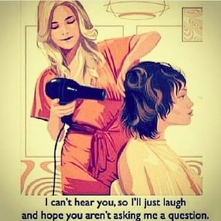 Image result for cant hear during blow dry